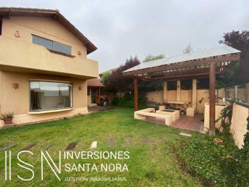 Inmejorable vista casa en San Joaquín 5 dormitorios
