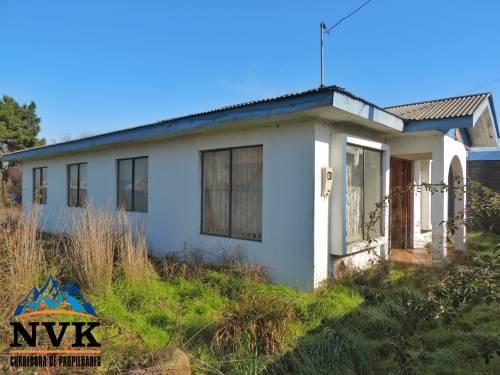 Terreno de 1.500 mts2 con casa en venta