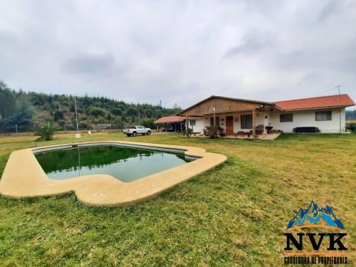 Hermosa casa en terreno de 3.2 hectáreas se vende