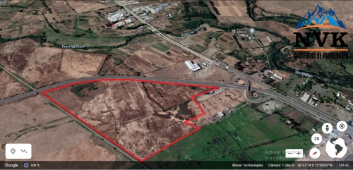 Terreno mixto industrial de 58 hectáreas en venta