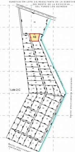 Parcela Lote 48 de 5.025 mts2 dentro de condominio en venta