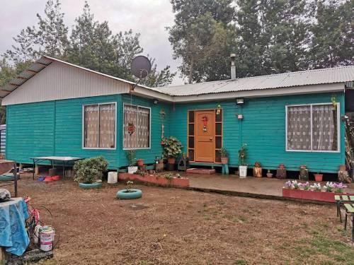 Se vende hermosa casa  tipo cabaña en sector el Manzano