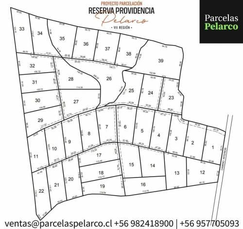 Talca | Venta de Parcela camino a Pelarco Km 4 desde 5 Sur